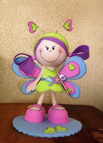 Minha 1   Fofucha  Borboleta By Maria Joaninha By Cidinha