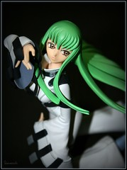 (^-^) (Queenscents) Tags: blue light shadow white black anime green japan hair beige flickr hand boots explore c2 animecharacter codegeass queenscents greenlonghair whitebodysuits