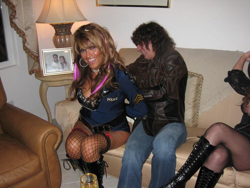 stuart at work yeohbaby tags halloween luau handcuffs yeoh bobparker yeohbaby