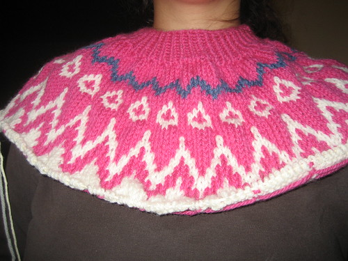 Drops Sweater Yoke