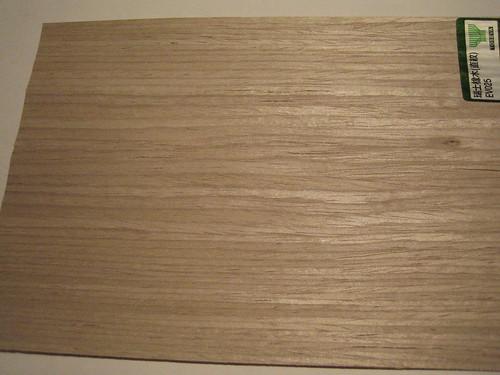 主臥木作的木皮