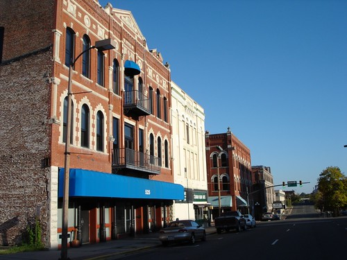 Milam St, Shreveport by trudeau