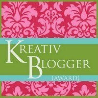 Kreative Blogger award logo