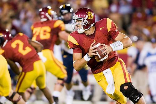 USC quarterback Mark Sanchez