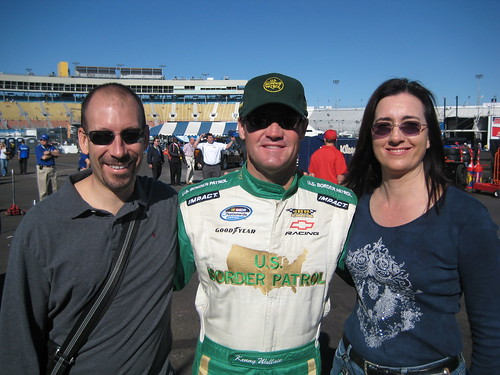 Joe, Kenny Wallace, Lisa
