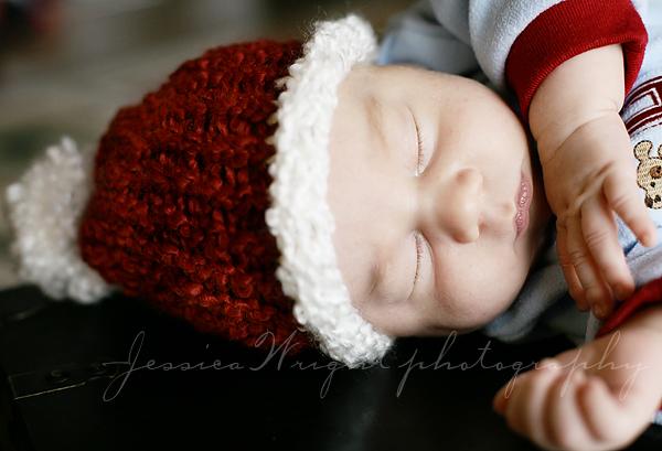 Santa hat with Pom