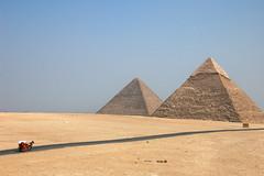 [フリー画像] [人工風景] [建造物/建築物] [ピラミッド] [ギザのピラミッド] [世界遺産/ユネスコ] [エジプト風景] [砂漠の風景]    [フリー素材]