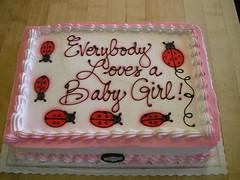 Baby girl ladybug