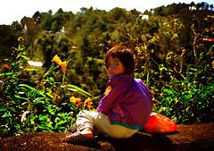 Smile (maraculio) Tags: smile la child windy sunflower trinidad benguet kutless lubas maraculio
