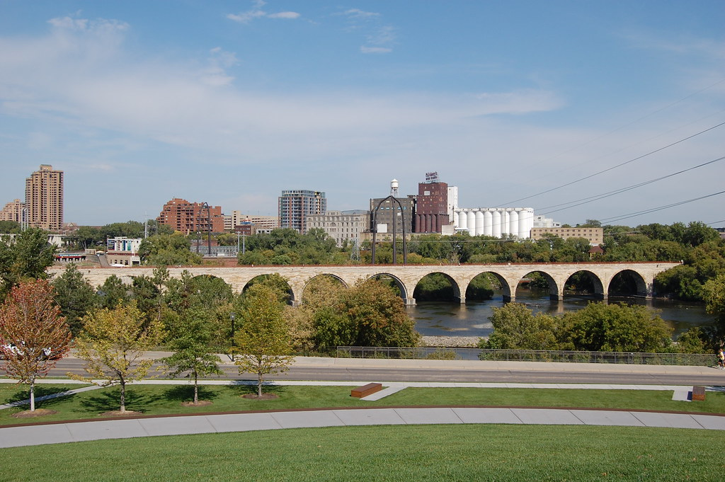 Gold Medal Park: Stone Arch Bridge