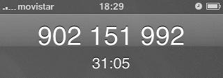 Captura de mi teléfono tras media hora hablando con el soporte de Apple como un gilipollas