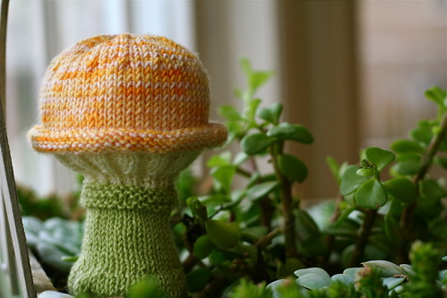Toadstool Baby Rattle