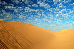 Mackerel Sky (mark willocks) Tags: california sand dunes nikond50 sanddunes algodones imperialdunes imperialsanddunes mywinners flickrestrellas quarzoespecial