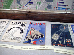 Métro Pocket Maps - 1930's