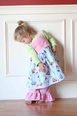 IMG_3131 (wondermommy) Tags: winter girl cord pattern frog fabric analise portabellopixie rufflepants