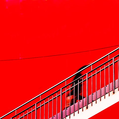 8934 The Ghost Ascending (tengtan (away awhile)) Tags: red lines wall stairs shopping frozen geometry ghost steps melbourne shoppingcentre plastic shoppingcenter ghostly complex shopper climbs ascending diagonals specter 500x500 auselite tengtan specre winner500 uniquechallenge cpapcontestred ministractpotd