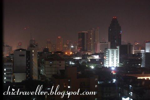 Indra Regent Hotel nightview