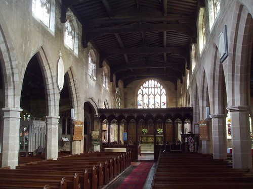 Interior looking East at Knowle