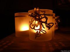 A candle for the beginning - A candle for the end (Michelsen Photography) Tags: november light dark lumix candle sunday indoor motive 2008 glas zazzle otw allrightsreserved diamondclassphotographer flickrdiamond photosexplore roymichelsen httpwwwzazzlecomneslehcim motive4u2see