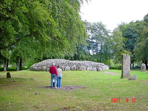 Clava Cairns Prehistoric Site