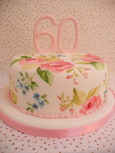 pictures of 60th birthday cakes