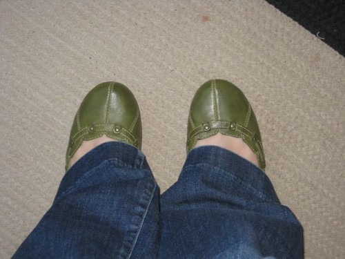 new green shoes
