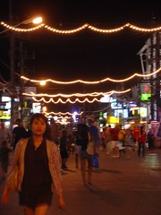 Nightlife at Patong Beach, Phuket