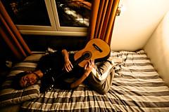 Mess Up My Bed With Me (Nick Today) Tags: b me window norway self beard happy bed guitar stripes room nick jamming blanket blend nickinnorway whatswithwebsitesgettingridofeslikeitsthecoolthingtodo ivebeenreallyaddictedtotumblrlatelyandidontknowwhyreally thisprobablylookswaytoodarkonanynonmaccomputerihatethat