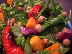 Mediterranean Roast Vegetable & Chickpea Salad