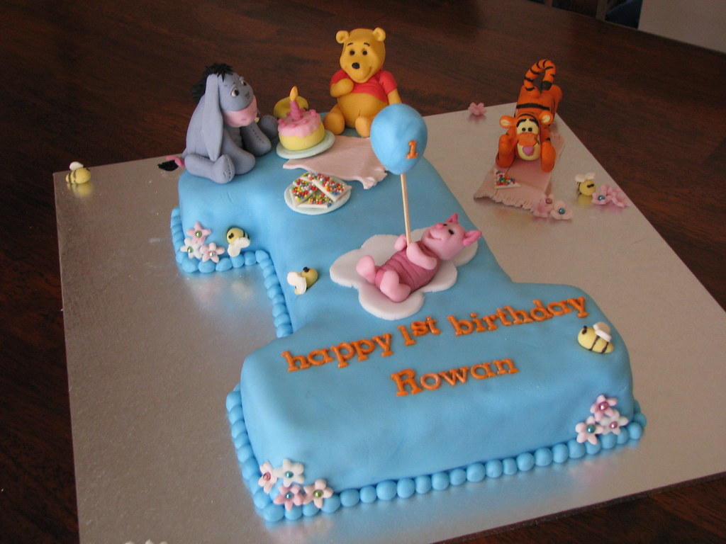 Here is a closer pic of the winnie the pooh characters everything but