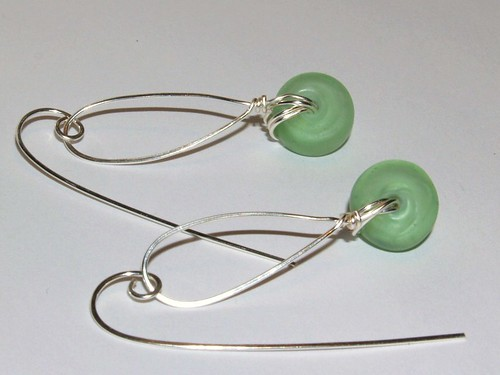 Frosted glass dangles 2