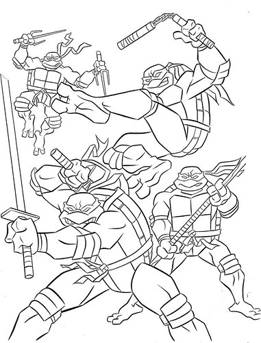 ninja turtle coloring pages splinter - photo #25