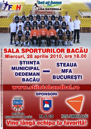 St vs Steaua MFA 28 aprilie
