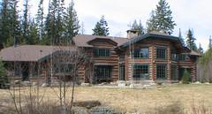 Flathead Lake Lodge on Log Lodge On Swan Lake  Montana  Joseph Magaddino  Joseph Magaddino