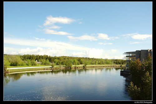 Otonabee River and Bata Library