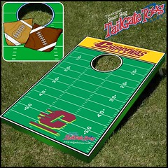 Central Michigan Bean Bag Toss Game
