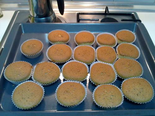 Vanilla cupcakes (Primrose Bakery recipe)