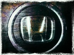H (Mordryd) Tags: black mobile honda circle logo phone grunge grain cellphone cell scratches gritty dirty retro h smartphone mobilephone scratch fakelomo android droid apps thunderbolt htc befunky
