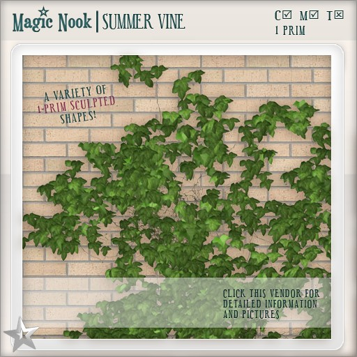 [MAGIC NOOK] Summer Vine