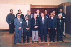 Asistentes al II Encuentro de Docentes de Cultura Tradicional de las Universidades Chilenas