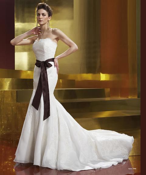 Trajes de novia baratos-986A