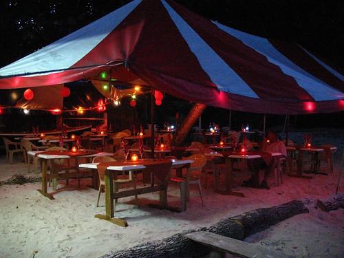 Cena di San Valentino alle Seychelles
