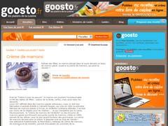 Dossier crème de marrons - Goosto