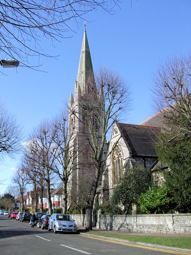 St Matthew's Church, Surbiton, London.