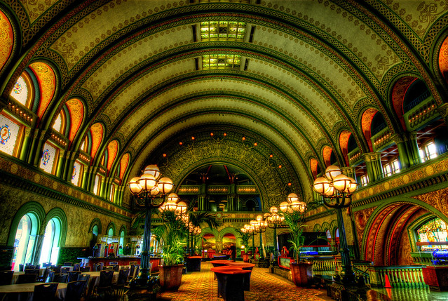 Union Station Grand Hall HDRI
