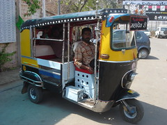 stretch rickshaw