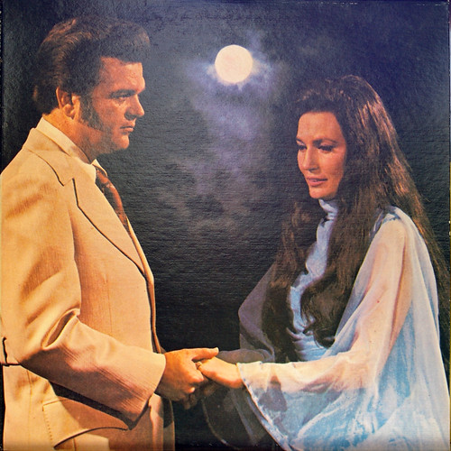 Heartache Tonight Conway Twitty Album Cover. Loretta and Conway 6493