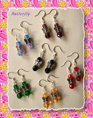 Orecchini Butterfly (Incantesimi) Tags: butterfly orecchini