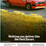 Ford Escort RS Datapost Advert