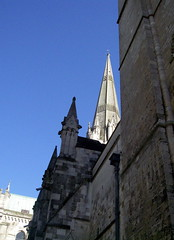 Chichester Cathedral 1 (the justified sinner) Tags: tower sussex cathedral steeple chichester justifiedsinner